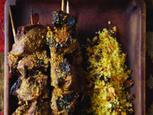 Lamb Kebabs with Charmoula Citrus Dressing Recipe