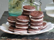 Chocolate Cream Sandwiches Recipe