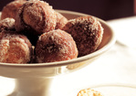 Florentine Doughnuts with Vanilla Custard Recipe