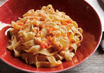 Tagliatelle with Chickpeas Recipe
