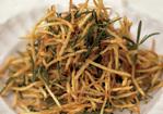 April's Rosemary Straw Potatoes with Lemon Salt Recipe