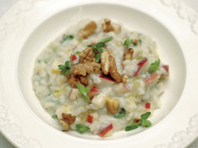 Apple and Walnut Risotto with Gorgonzola Recipe