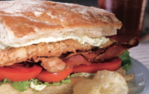 """Fried"" Catfish BLTs Recipe"