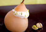 Green Tea Poached Pear Recipe