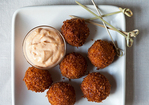 Serrano Ham and Manchego Croquetas with Smoked Pimentón Aioli Recipe
