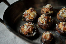 Creamy Sausage Stuffed Mushrooms Recipe