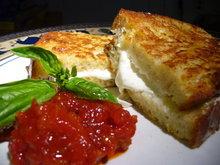 Mozzarella in Carrozza with Sundried Tomato and Roasted Red Pepper Jam Recipe