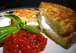 Mozzarella in Carrozza with Sundried Tomato and Roasted Red Pepper Jam Recipe