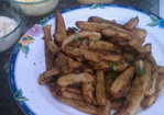 Duck Fat French Fries with a Trio of Aiolis Recipe