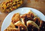 Samosas with Loquat-Onion Chutney Recipe