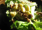Apple, Hazelnut and Cheddar Salad Recipe