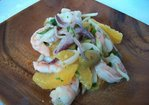 Marinated Seafood Salad with Orange and Olive Recipe