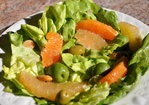 Butter Lettuce, Pomelo and Cara Cara Salad with Olives and Citrus Vinaigrette Recipe