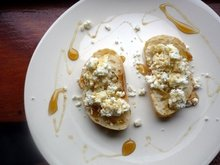 Crostini with Homemade Ricotta and Honey Recipe