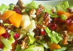 APPLE – PERSIMMON SALAD Recipe