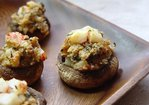 Crab & Herb Stuffed Mushrooms Recipe