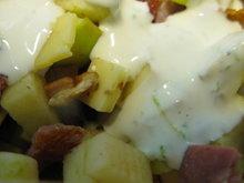 Salad ABC - Apples, Bacon, Cumin Cheese Recipe