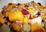 Roasted Butternut Squash, Fennel, and Farro Salad Recipe