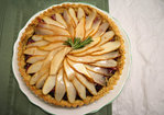 Fresh Pear, Fig, and Prosciutto Tart with Rosemary Cornmeal Crust Recipe