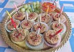 Mini Bacon, Pepper and Herb Cheesecakes Recipe