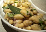 Tuscan Bean Salad with a Walnut Sage Vinaigrette Recipe