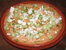 Grilled Red Pepper White Bean Dip Recipe