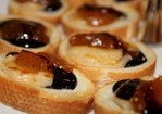 French baguette, with Parmigiano Reggiano Cheese, Italian Organic Fig preserve and Balsamic Glaze Recipe