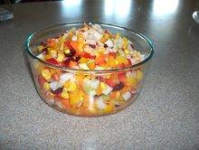 Jicama Color Crunch Salad Recipe