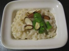 Sesame Almond Risotto with Parmesan Recipe