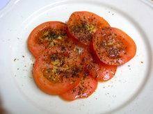 mummy's yummy tomato salad Recipe