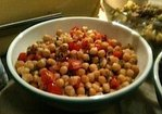 Chickpea salad with Tomatoes and Mint (Vegan, Gluten Free) Recipe