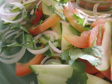 Green mango Summer salad Recipe
