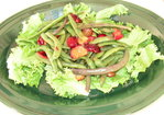 Green Bean and Plum Salad Recipe