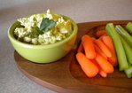 Edamame and Garbanzo Dip Recipe