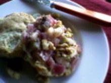 Mini Sage Cheddar Biscuits with Apple Walnut Chutney Recipe