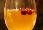 Chilled Spiced and Bubbly Cider Punch Recipe