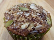 Carrot Orange Oatmeal & Walnut Muffins Recipe