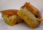 Cranberry & Custard Filled Cornbread Recipe