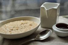 Overnight Steel-Cut Oats with Almond Butter & Honey Recipe