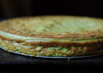 Spring Pea and Ricotta Torte with Lemon and Mint Recipe