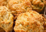 Ham, Cheddar, and Chive Scones Recipe