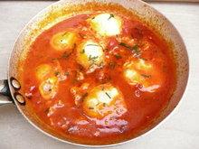 Tuscan Tomato Poached Eggs Recipe