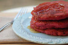 Beet and Quinoa Pancakes Recipe