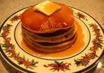 Boozy Eggnog Pancakes Recipe