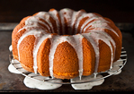 Texas Ruby Red Grapefruit Cake with a Hint of Mint Recipe