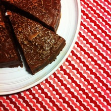 Chocolate Cake with Biscoff Ganache Recipe