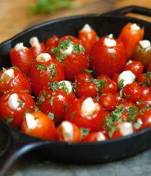 Slow Roasted Garlic Tomatoes Recipe