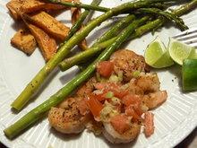 Grilled Shrimp with Horseradish Salsa Recipe