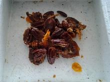 Candied orange pecans with bourbon Recipe