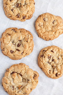 Giant Chewy Chocolate Chip Cookies Recipe